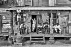 1939 VINTAGE TEXACO GAS PUMP STATION OLD SOUTH 8X12 B&W PHOTO BLACK AMERICANA