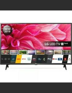 """LG 43"""" 1080p Full HD with HDR LED Freeview HD Smart TV- Black"""