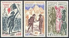 France 1972 Napoleon/Military/Egypt/History/Costumes/Clothes/People 3v (n41771)