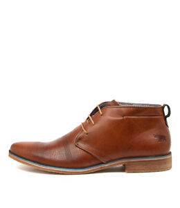 New Wild Rhino Jarvis Grey Leather Mens Shoes Casual Boots Ankle