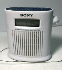 Sony Water Resistant Weather Shower Am Fm 3 Band Radio Icf-S79W - Tested