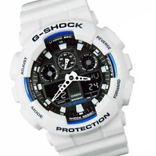 ORIGINAL Casio G-shock GA100B-7A White Watch unisex