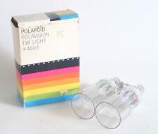 POLAROID POLAVISION LAND CAMERA AND TWI LIGHT IN ORIGINAL BOX LN