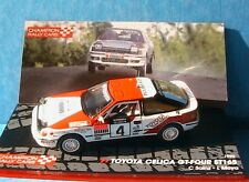 TOYOTA CELICA GT FOUR ST165 #4 CARLOS SAINZ MOYA 1000 LAKES RALLY 1990 IXO 1/43
