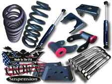 """Crown Suspension 3"""" Front 5"""" Rear Lowering Kit Drop Kit Fits 2015-2016 Ford F150"""
