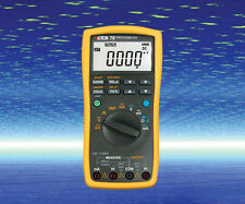 DC Current Voltage 0-20mA/5V Frequency Process Calibrator & Multimeter 2in1 VC78
