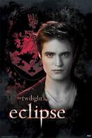 TWILIGHT ECLIPSE ~ EDWARD CREST ~ MOVIE POSTER Saga