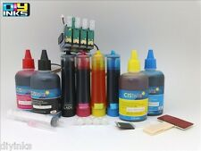 800ML Supply Ink System for Epson Workforce 545 630 7010 CISS & Extra Ink Set