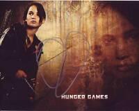 JENNIFER LAWRENCE Signed HUNGER GAMES Photo w/ Hologram COA