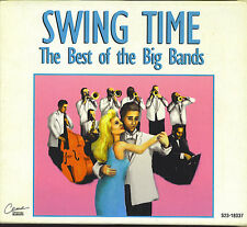 SWING TIME - THE BEST OF THE BIG BANDS - MINT 3 CD BOX SET - 60 SONGS