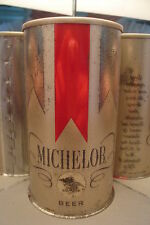 MICHELOB SPECKED ORANGE PEEL TEST SS PULL TAB BEER CAN COLUMBUS OH. LIKE #235-18