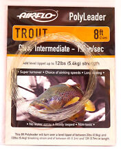 AIRFLO Polyleader TROUT 8ft / 2,40Mtr.  CLEAR INTERMEDIATE