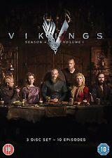 VIKINGS season 4 part 1 volume 1 region 2 DVDs new Fast Dispatch