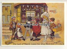 ad3690 - Fry's Chocolate - The Chocolate Shop - Modern Advert Postcard