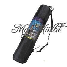 Yoga Mat Bag Exercise Fitness Carrier Nylon Mesh Washable Adjustable Strap L ゃ