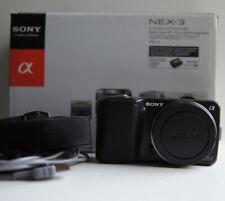 Sony Alpha NEX-3 14.2MP (Body Only) Black Digital Camera 4K Shutter count