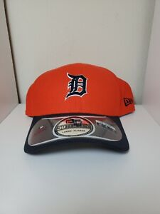 Detroit Tigers MLB New Era 39Thirty Flex Fit Hat/Cap Size L/XL