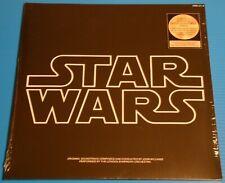 STAR WARS soundtrack - Rare GOLD double 180g vinyl LP - NEW/SEALED