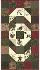 Winter'S Song Table Runner Quilt Kit + Quilt Book - Moda Fabric Holly Taylor