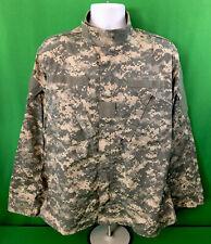 US Army Digital Camouflage Military Jacket Sz Medium Regular Camo Fast Shipping