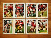 1992 Bowman San Francisco 49ers TEAM SET w/ Gold Foils