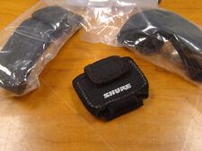 Shure WA581B Black Velcro Micro Pouch for Shure UR1M wireless