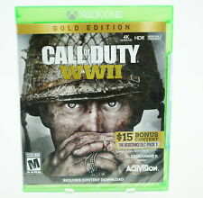 Call of Duty WWII [Gold Edition]: Xbox One [Brand New]