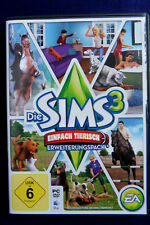 Die Sims 3 Einfach tierisch PC/Mac 2011 DVD-Box *Sehr Gut*