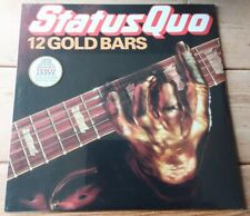 Status Quo ‎– 12 Gold Bars -Tesco 2016 Limited edition Gold Coloured Vinyl