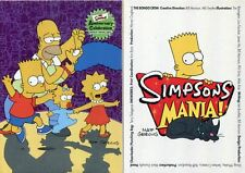 Inkworks Simpsons 10th & Mania Complete Base Sets 153 Cards In Total SALE