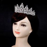 Bridal Wedding Crystal Rhinestone Tiara Hair Band Princess Prom Crown Headbands