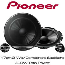 "VW Polo 2001-2009 Pioneer 6.5"" 17cm 2-Way Component Speakers 600W Door Speakers"