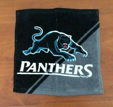 NRL  PENRITH PANTHERS FACE WASHER FACE TOWEL SET OF 2  BRAND NEW