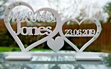 Personalised Mr & Mrs Table Top Sign & Date Mr and Mrs Wedding Decoration Gift