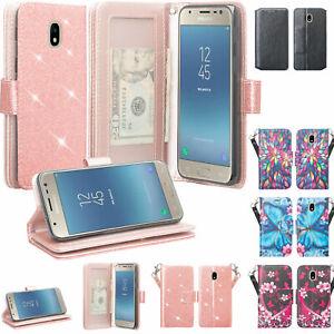 LG Tribute Royal, X2, LG Journey Case, Leather Magnetic Flip Wallet Slots Cover