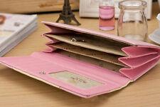 Damen Frauen Geldbörsen Geldbörse Portemonnaie Portmonee Mappen Karten Bifold