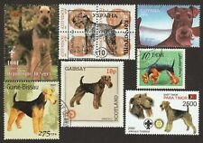 Airedale Terrier * Int'l Dog Postage Stamp Art Collection *Great Gift Idea*