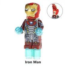 G3 - Iron Man Mask Avenger - Custom Figures Gashapon MOC LEGO - Nuovo in Blister