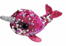 Ty 42403 Nelly Narwhal Flippable Teeny Multicolored