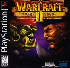 WarCraft 2 The Dark Saga PS1 Great Condition Fast Shipping