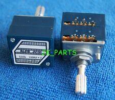 ORIGINAL & Brand New ALPS RK27 Dual 100K Log Potentiometer, knurled shaft