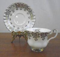 "Royal Albert  Bone China England Tea Cup and Saucer ""25th Anniversary"""