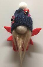 Handmade fairy gnome gonk tomte FRIDGE MAGNET