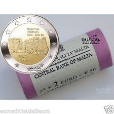 "Rouleau 25 x 2 euros commémoratives Malte 2016 - Ggantija"" - 350 000 exemplaires"