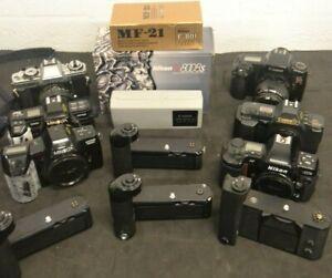 Mixed Film Camera Lot (7) Parts or Repair