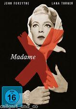 MADAME X 1966 DVD Lana Turner John Forsythe Burgess Meredith neu & OVP!