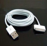 10ft 3M USB Data Sync Charge Cable Adapter for Apple iPad 2 iPhone 4 4S 3GS LI