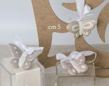Bomboniere Farfalla Porcellana da appendere As.3 Cm5.Battesimo,Comunione,Matrimo