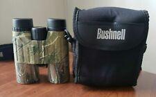 Bushnell 10X42 Camo Binoculars Waterproof FOV 304 FT with Case
