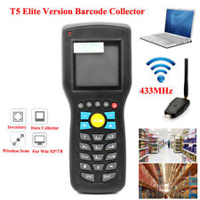 T5 Inventory Machine Barcode Data Collector Wireless Scanner Mobile Terminal+LCD